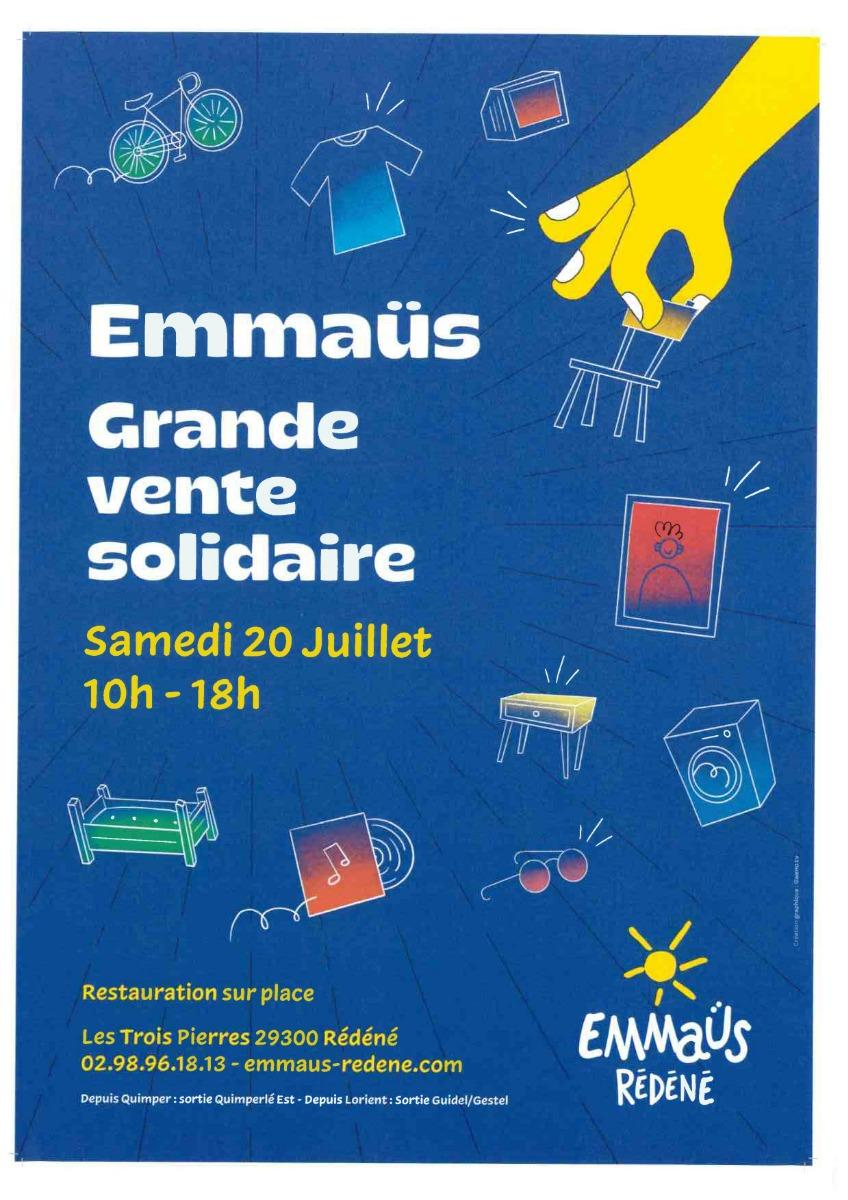 Association Humanitaire Emmaüs Rédéné 29